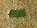 Mini syn grass golf tee