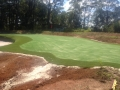 Synthetic golf green Sunshine Coast