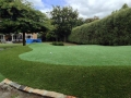 Backyard Synthetic Golf Green
