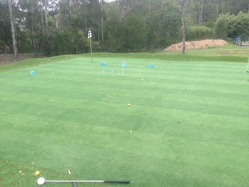 synthetic golf green Australia