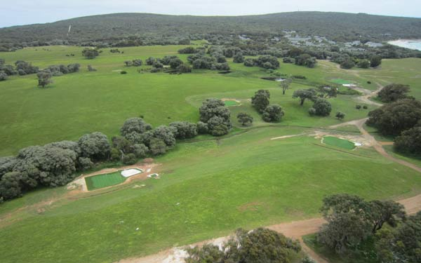 Four greens and 5 tees installed at this property in WA.