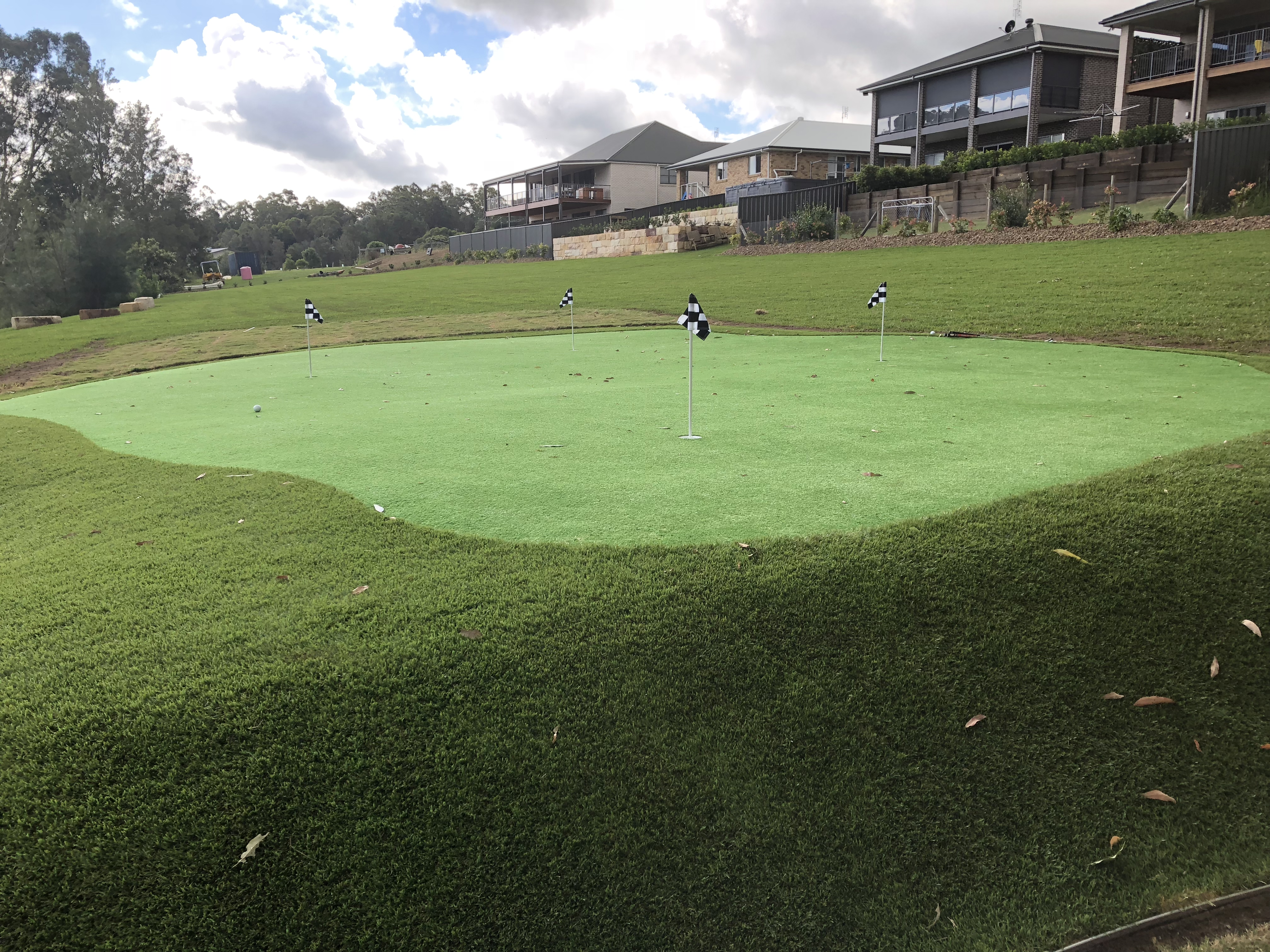 """Difference between a """"putting"""" green and a """"golf"""" green"""